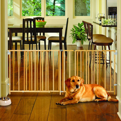 Wooden Pet Gate